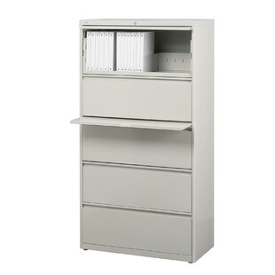 CommClad 5-Drawer Lateral Filing Cabinet