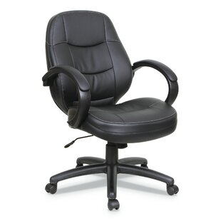 Purchase Stockport Genuine Leather Executive Chair by Ebern Designs Reviews (2019) & Buyer's Guide