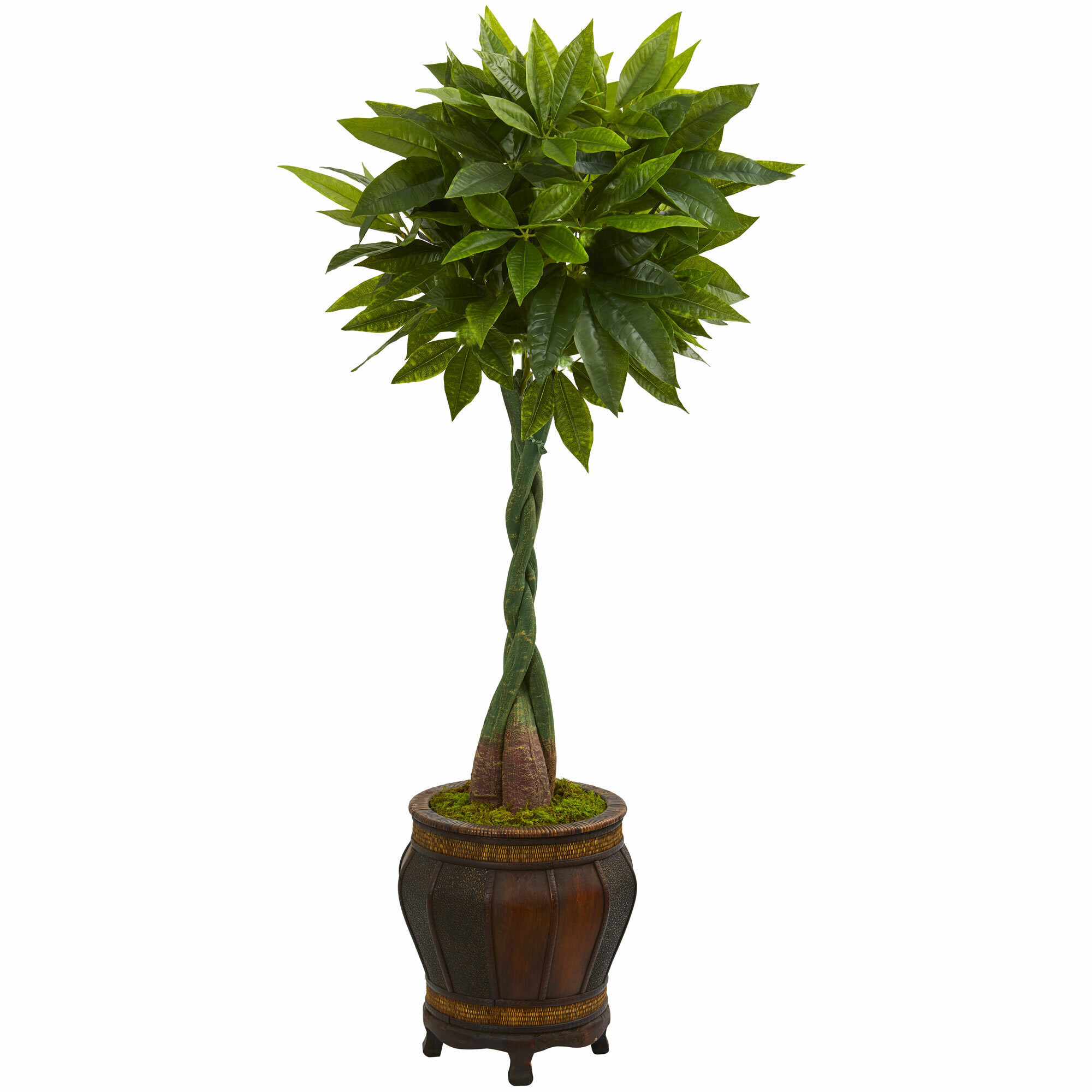 Bloomsbury Market 45 Artificial Foliage Tree In Planter Wayfair