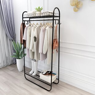 Rolling Clothes Racks Garment Racks Free Shipping Over 35 Wayfair