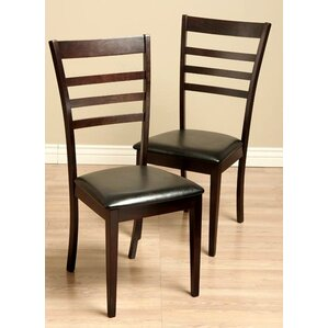 Crystal Side Chair (Set of 2) by Warehouse of Tiffany