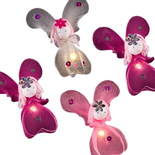 Juanes Princess Fairies Fairy 16.40 Ft. 20-Light Novelty String Light By 17 Stories