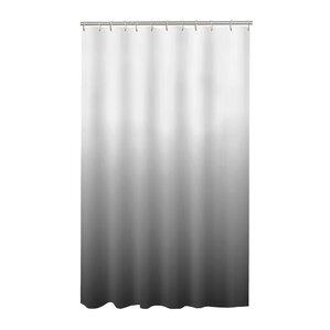 black and gray shower curtain. happy peva shower curtain black and gray s