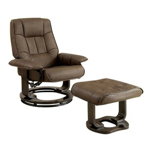 Havens Swivel Armchair with Ottoman