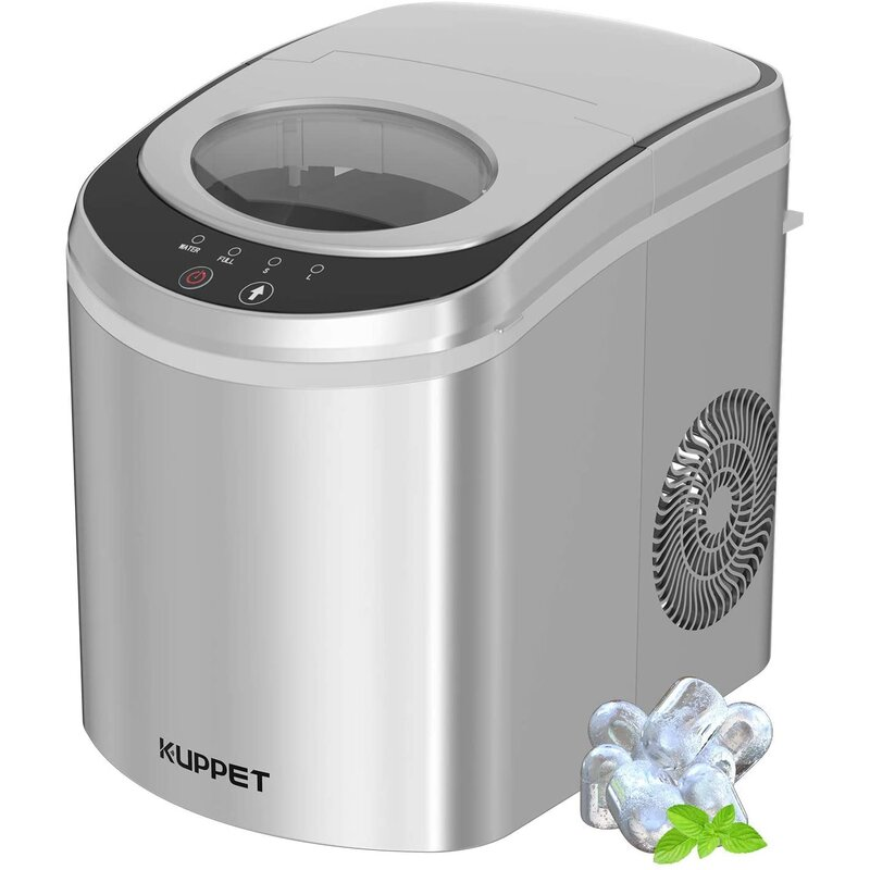 Kuppet 26 Lb Daily Production Portable Clear Ice Maker Wayfair