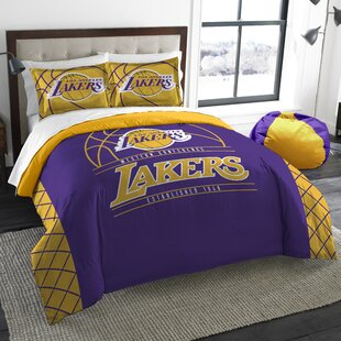 Superbe NBA Reverse Slam 3 Piece Full/Queen Comforter Set