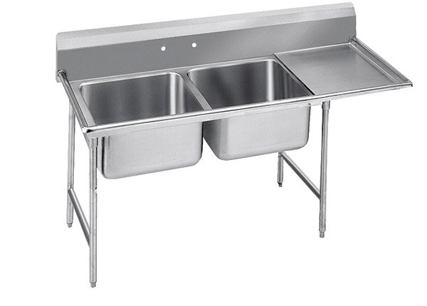 Advance Tabco 930 Series Free Standing Service Sink Wayfair