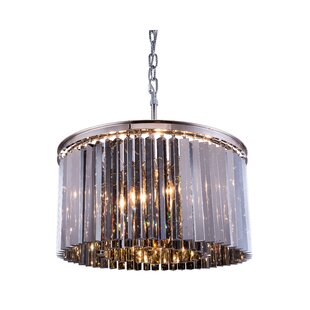 Lavinia 8-Light Crystal Chandelier by Everly Quinn