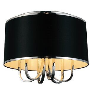 CWI Lighting Orchid 6-Light Flush Mount