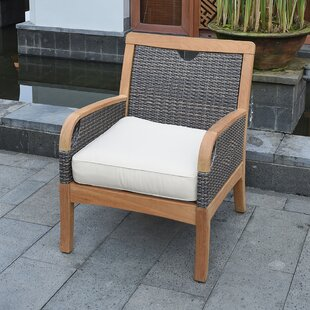 Mansfield Teak Patio Chair with Cushion