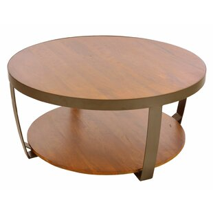 Alyssa Solid Wood Coffee Table By Union Rustic