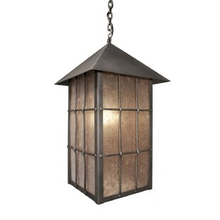 Loon Peak Bax Rectangle 1-Light Lantern Pendant