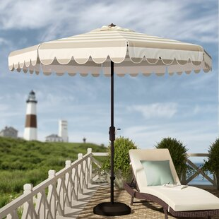 Beachcrest Home Lambeth 8.5' Drape Umbrella