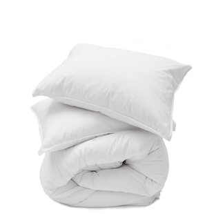 Cotton Percale 3 Piece Duvet Cover Set