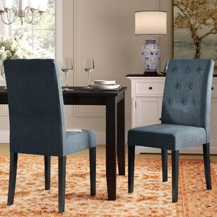 Androscogin Side Upholstered Dining Chair Charlton Home