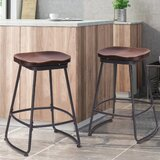 Secor Swivel Counter Stool (Set of 2) by Williston Forge