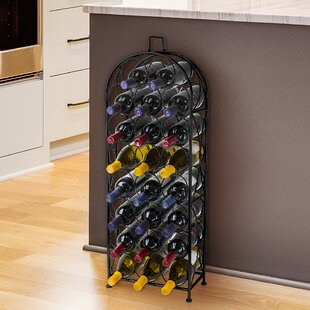 Sorbus Bordeaux 23 Bottle Floor Wine Rack