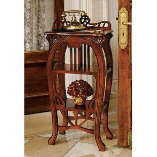 Design Toscano Art Nouveau Harp End Table