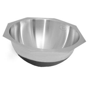 Deals 14 Stainless Steel Round Undermount Bathroom Sink ByJust Manufacturing