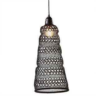Bungalow Rose Zechariah 1-Light Novelty Pendant