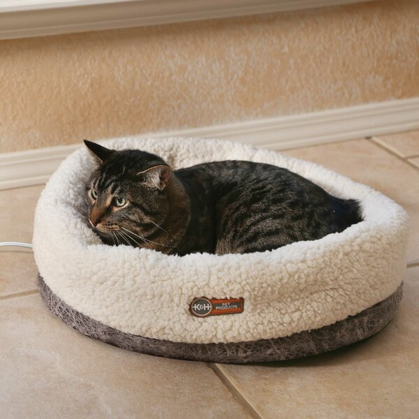 Tucker Murphy Pet Basso Thermo Snuggle Cup Pet Bed Bolster Wayfair