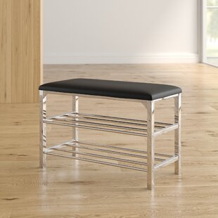 Read Reviews Stellarton Faux Leather Storage Bench By Wade Logan