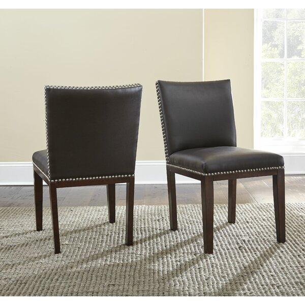 Super Bonded Leather Dining Chair Wayfair Machost Co Dining Chair Design Ideas Machostcouk