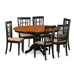 7 Piece Extendable Dining Set by East Wes..