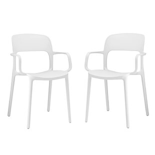 Bohr Arm Chair (Set of 2) by Wrought Studio