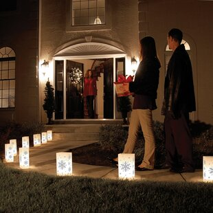 The Holiday Aisle Snowflake Luminary (Set of 10)