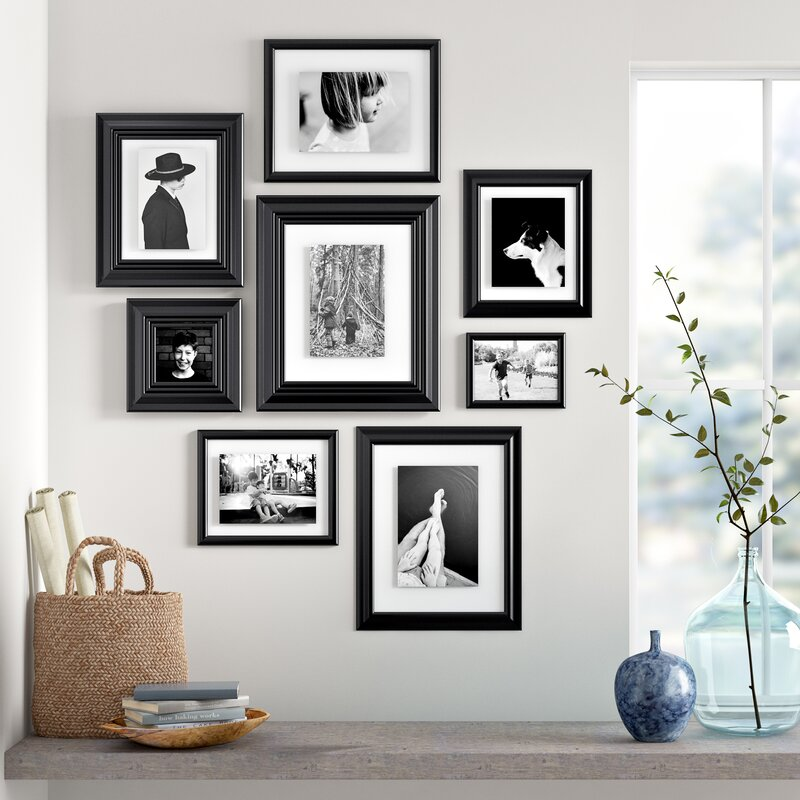 Three Posts Teen 8 Piece Syston Gallery Picture Frame Set Reviews Wayfair
