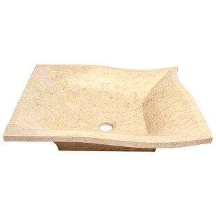 MR Direct Egyptian Stone Specialty Vessel Bathroom Sink