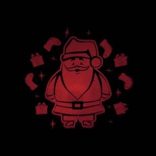 Red LED Projector Santa Lamp Light Image
