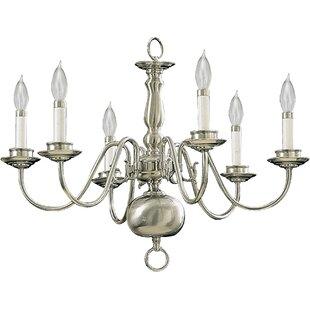 Charlton Home Libby 6-Light Chandelier