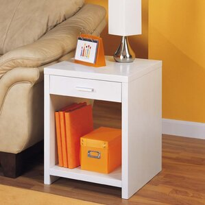 Dawn 1 Drawer End Table by Organize It All