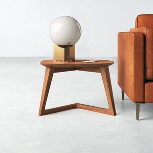 Modern Solid Wood End Side Tables Allmodern