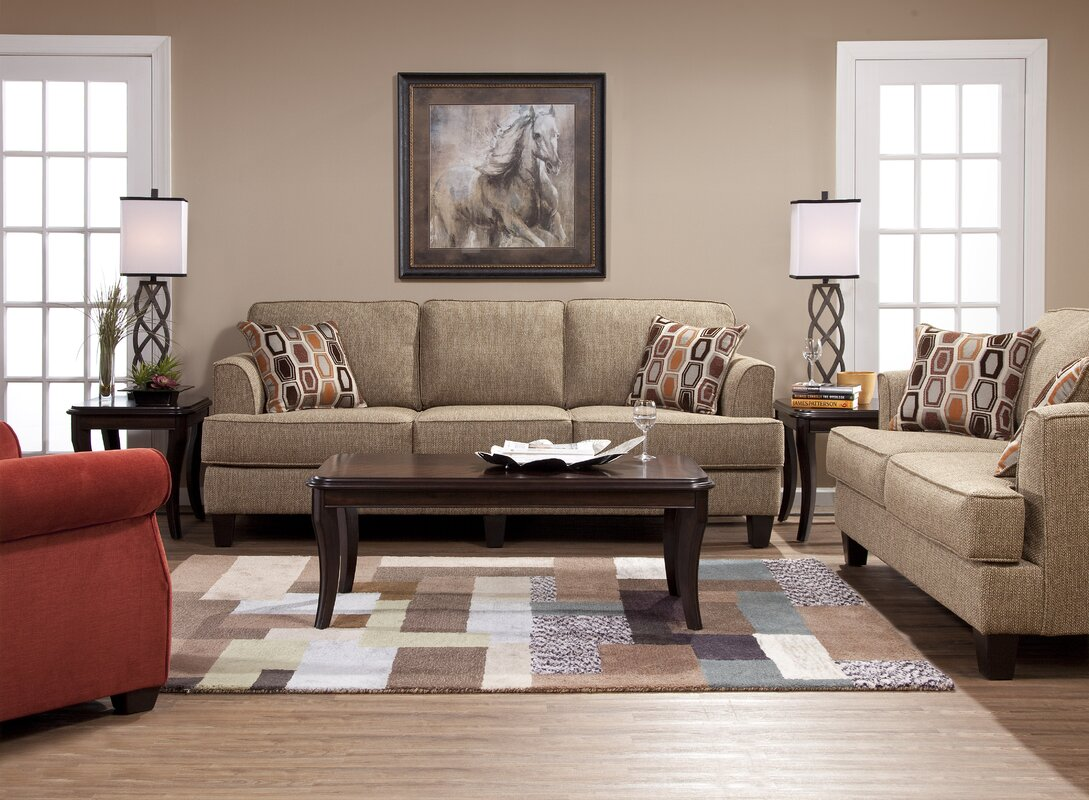Andover Mills Nordberg Configurable Living Room Set & Reviews | Wayfair