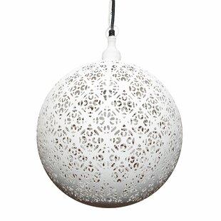 Mistana Ean 1-Light Globe Pendant