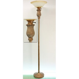 Inexpensive Elizabethtown Montgomery 69.5 Torchiere Floor Lamp By Fleur De Lis Living