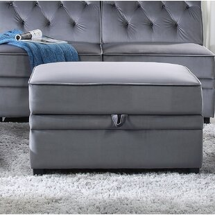 Sallee Storage Ottoman by Charlton Home