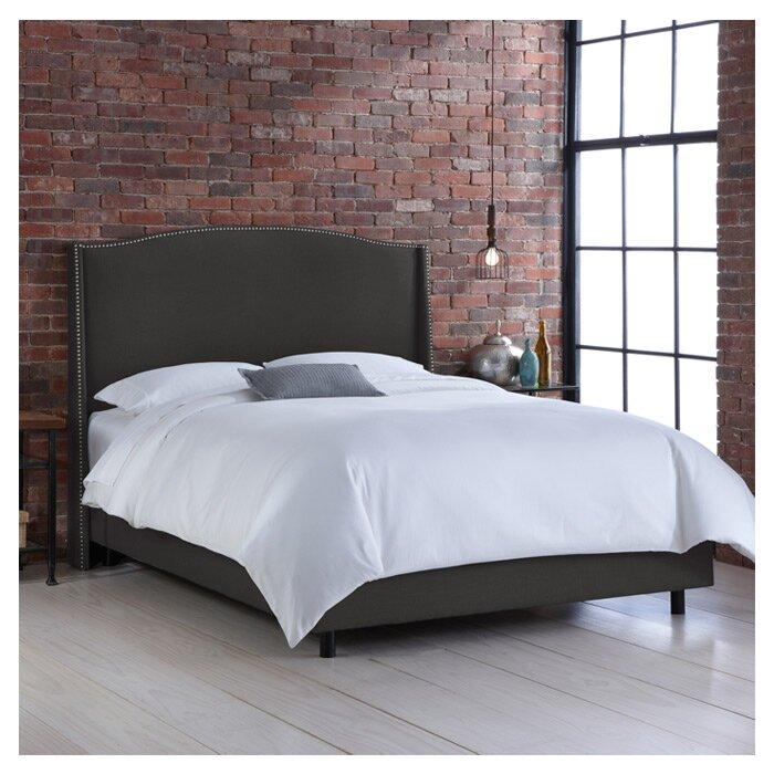 Skyline Furniture Cora Upholstered Bed & Reviews | Wayfair
