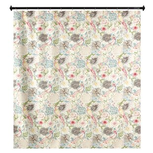 Caylee Nightingale Single Shower Curtain