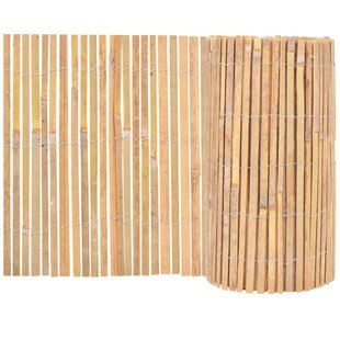 Florida Bamboo Garden Fence (10m X 0.5m) By Bay Isle Home
