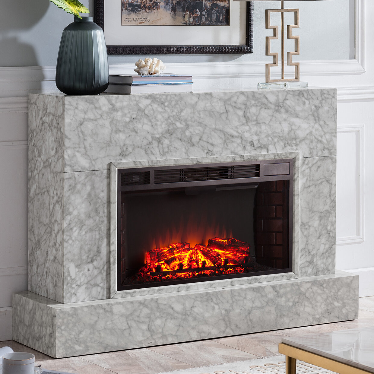 Amazing Torvelle Electric Fireplace Tv Stand Download Free Architecture Designs Ponolprimenicaraguapropertycom