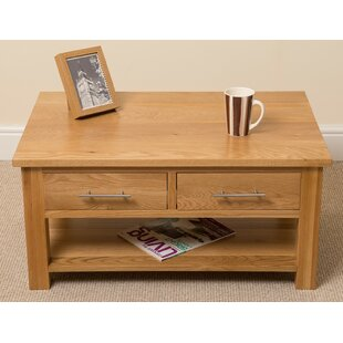 Natalie Coffee Table With Magazine Rack By Alpen Home