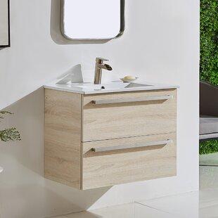 Acaia 30 WallMounted Single Bathroom Vanity Set