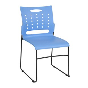 Armless Air-Vent Stacking Chair by Offex