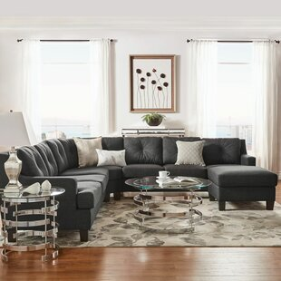 Doane 7 Seat Reversible Sectional with Ottoman by Brayden Studio