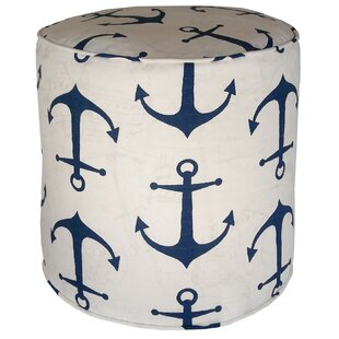 Barview Anchors Pouf By Breakwater Bay