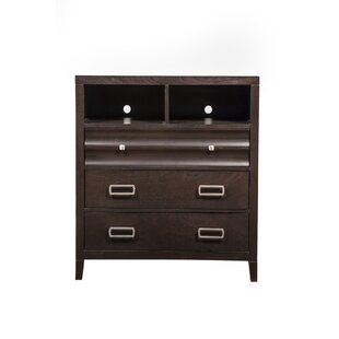 Arnot 3 Drawer Media Chest